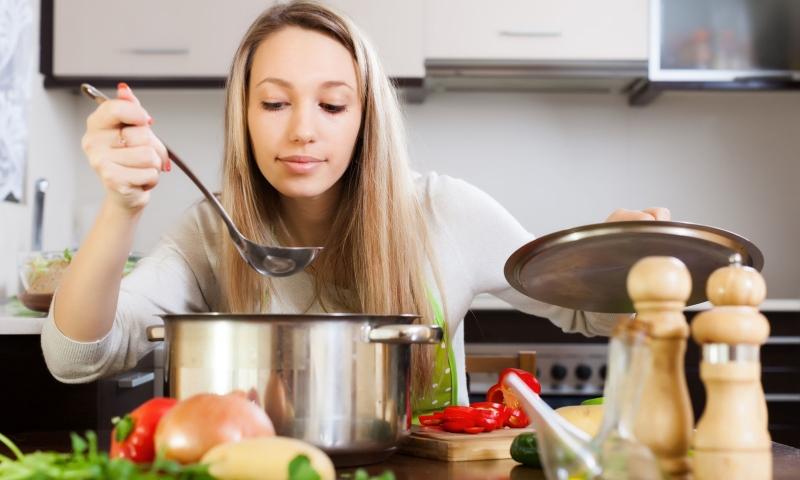 Κέρδισε χρόνο, μαγειρεύοντας γρήγορα και υγιεινά