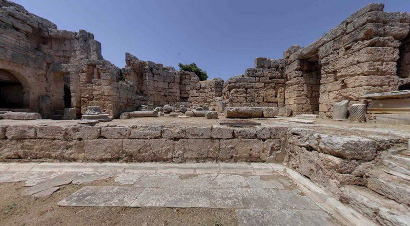 Εικονική επίσκεψη στην Αρχαία Κόρινθο