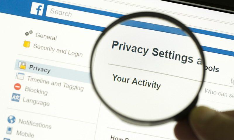 Προστασία προσωπικών δεδομένων στο Facebook