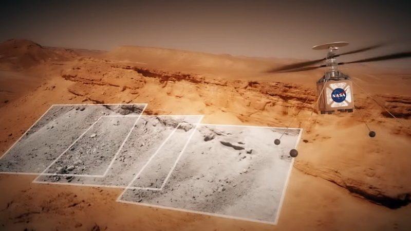 Ένα ελικόπτερο στον Άρη