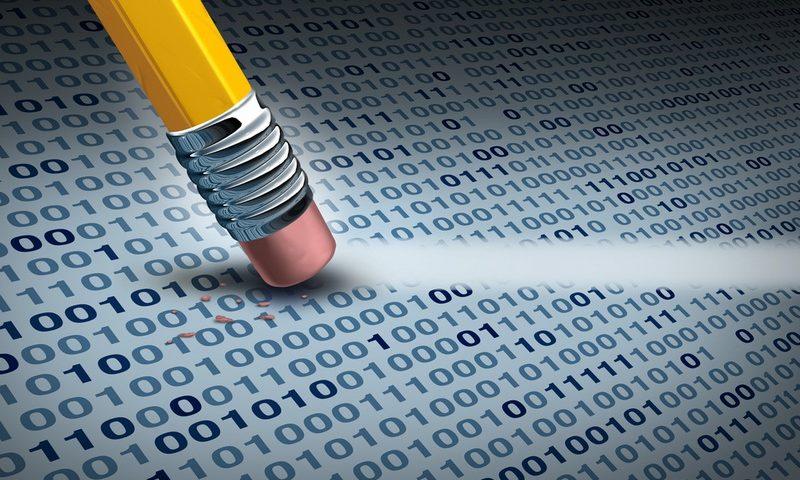 Απόλυτη διαγραφή για προστασία προσωπικών δεδομένων