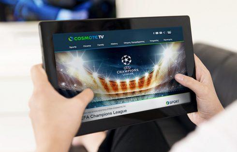 Τώρα το COSMOTE TV είναι διαθέσιμο σε όλους!