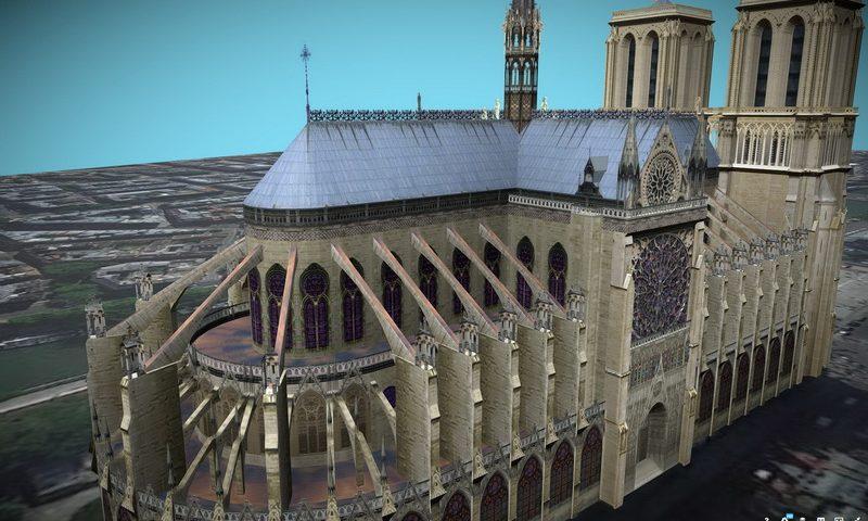 Δες την Παναγία των Παρισίων σε 3D