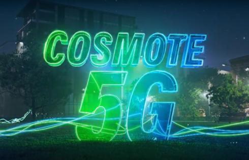 Η COSMOTE φέρνει πρώτη στην Ελλάδα το 5G