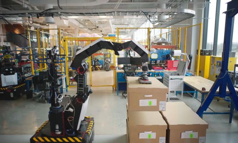 Stretch: Το ρομπότ αποθηκάριος